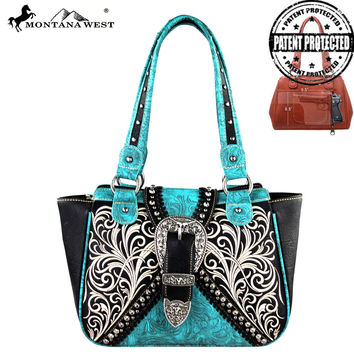 Montana West MW248G-8250 Concealed Carry Handbag