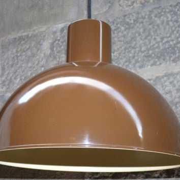 Iconic 1970s MIDI BUNKER pendant light, designed by Jo Hammerborg for Fog & Mørup.