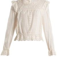 Laelia embroidered-lace top | Zimmermann | MATCHESFASHION.COM UK