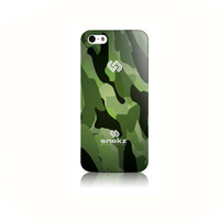 Dark Green Camouflage Army Design iPhone 4 4s, iPhone 5/5s, Iphone 5c Hard Case Cover