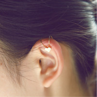 Cute single drill star earring ear clip without ear hole false ear ear clip ear clip