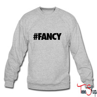 #FANCY crewneck sweatshirt