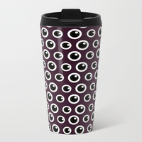 Eye Spy Metal Travel Mug by lalainelim