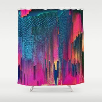 Party Puke Shower Curtain by Ducky B