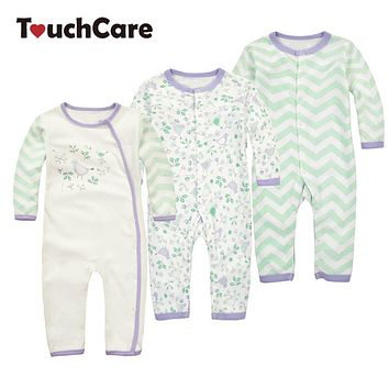 Baby Boy Girl Rompers Newborn Soft Long Sleeve Kids Sleepers Toddler Children Clothes Jumpsuit