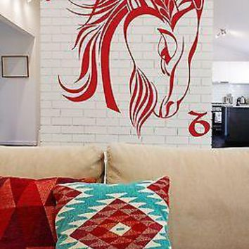Wall Vinyl Sticker Decal Symbol of Capricorn Horoscope Tenth Unique Gift (n151)