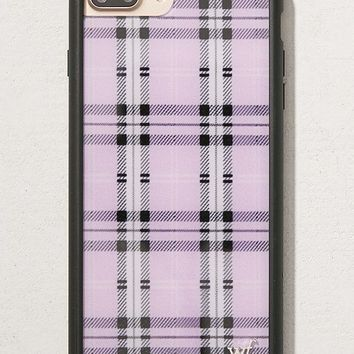 Wildflower Lavender Plaid iPhone 8/7/6 Plus Case | Urban Outfitters