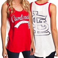 Womens St. Louis Cardinals Jersey Tank Top | SportyThreads.com