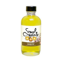 Simply Organic Oils 4 Ounces Organic Extra Virgin Jojoba Oil