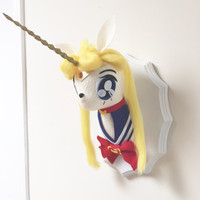 Sailor Moon Unicorn Taxidermy