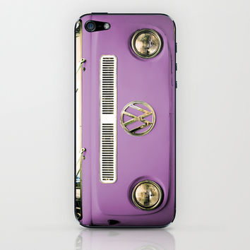 Summer of Love - Radiant Orchid iPhone & iPod Skin by Olivia Joy StClaire
