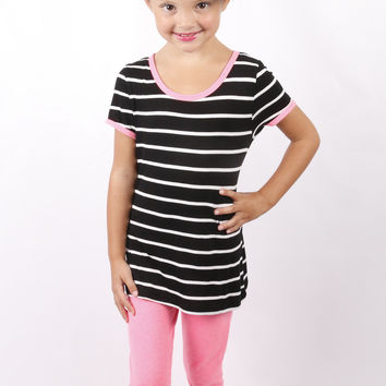 Silly Stripes: Black