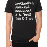 Key & Peele Student Names T-Shirt
