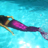 Mermaid Tails without Monofin