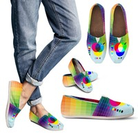 RGB/CMKY Casual Shoes