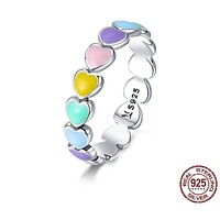 Colors of Heart Ring