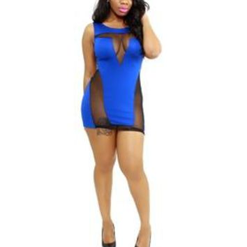 Marcelle Bodycon Royal