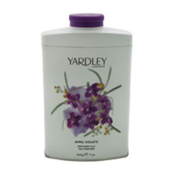 April Violets Perfumed Talc Yardley London