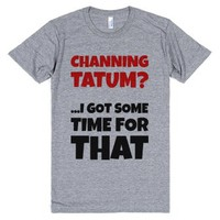 Some Time for Tatum-Unisex Athletic Grey T-Shirt