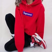 ''Supreme'' Women Hot Hoodie Cute Sweater