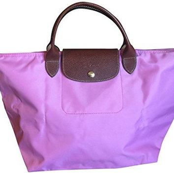 Longchamp Large Le Pliage Large Folding Tote Pink Handbag Bag