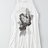 LST & FND Graphic Tank, Fresh White | American Eagle Outfitters