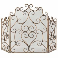 Uttermost 20467 Kora Fireplace Screen