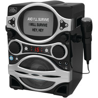 The Singing Machine Top-loading Cdg Karaoke Player With Monitor