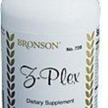 [Pack of 2] Bronson Z-Plex, Free-Radical Protection, 100 Tablets Each