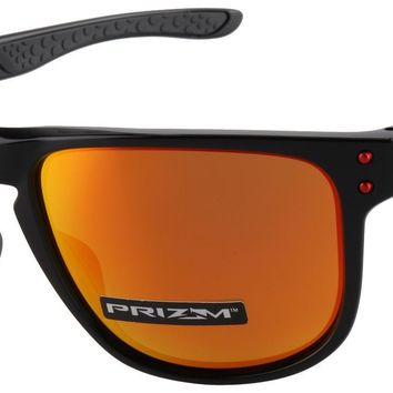 Oakley Holbrook R Sunglasses OO9377-0755 Polished Black | Prizm Ruby Polarized
