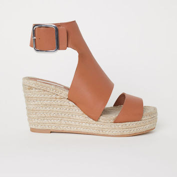 Wedge-heel Sandals - from H M 1d98600062