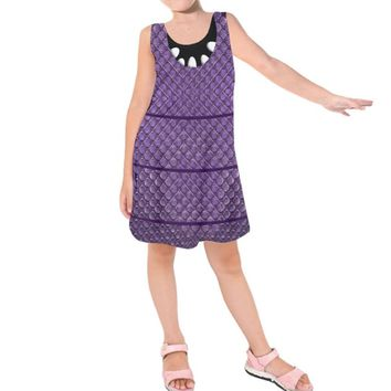 Kid's Boo Monsters Inc. Inspired Sleeveless Dress