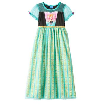 Disney's Frozen Fever Anna Dress-Up Nightgown - Girls