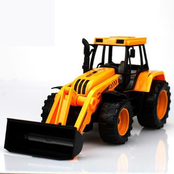 1:30 Kids Toy Vehicles Inertial Truck Tractor Plastic Multifunctional Excavator Educational Toys Car For Boys Cheap China Gifts