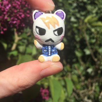 Animal Crossing Marshal charm!