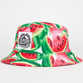 Milkcrate Athletics Watermelon Mens Bucket Hat Watermelon One Size For Men 23846337201