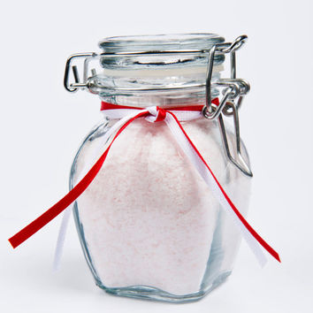 Peppermint Foot Soak, Pedicure salts for feet- 5 oz jar