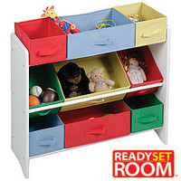 Ready Set Room™9 Bin Canvas Organizer