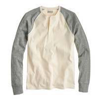 J.Crew Mens Flagstone Colorblock Henley