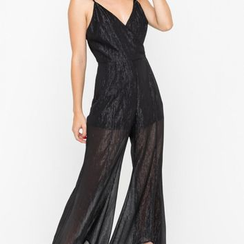 Shimmer Cocktail Jumpsuit