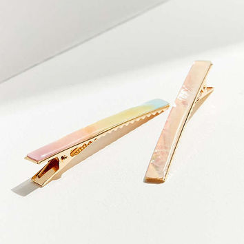 Super Shine Hair Clip Set | Urban Outfitters