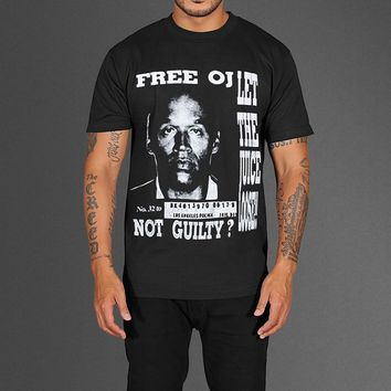 qiyif FREE OJ SIMPSON T-SHIRT AS WORN BY KANYE WEST