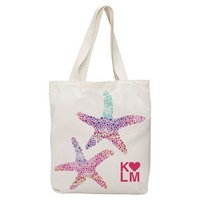 Made-By-You Multi Color Starfish Tote
