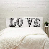 Rise and Fall Love Pillowcase Set