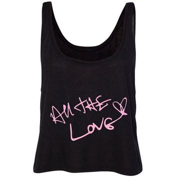 "Harry Styles ""All The Love Autograph"" Cropped Tank"