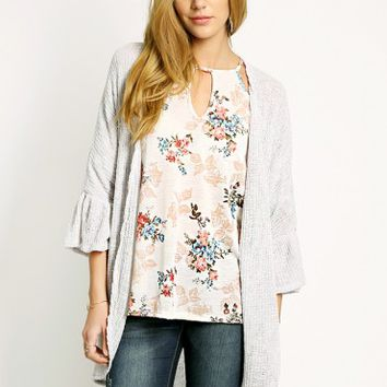 Carley Statement Sleeve Cardigan