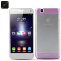 Green Orange GO N1 5 Inch Phone - Android 4.2 OS, MTK6589 Quad Core 1.2GHz CPU, 1GB RAM +16GB Memory (Purple)