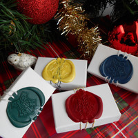 Hogwarts School Of Witchcraft And Wizardry Crest Wax Seal Stamp Box Twine GIFT WRAP To Go With Jewelry From My Shop