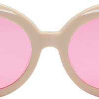 Ivory 'Red Pocket' Sunglasses