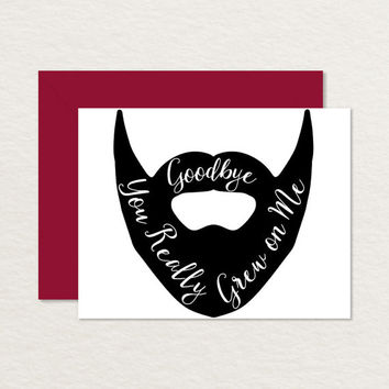 printable goodbye cards